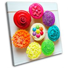 Cupcakes  colour Food Kitchen - 13-0480(00B)-SG11-LO